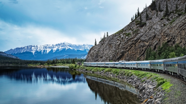 The Canadian train from Toronto to Vancouver (Photo: Chloe Simard)