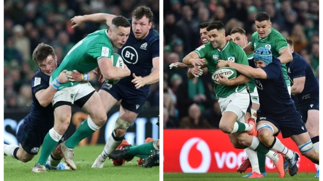 John Cooney (left) may offer Ireland more of an attacking threat than Conor Murray (right) based on this season's form (Getty Images)