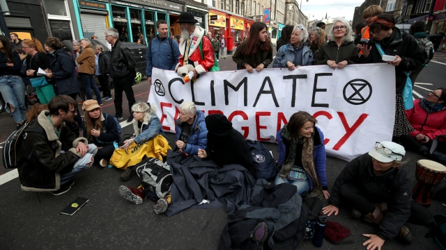 Last year the Investment Association estimates £19bn was invested in UK ethical funds thanks to high-profile campaigners, such as Extinction Rebellion