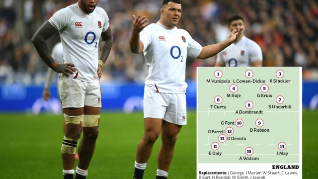 England could select a number of new names for selection against Scotland (Getty Images)