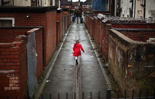 Charity 'Save the Children' today announced that up to 1.6 million children in the UK are living in poverty (Photo: Christopher Furlong/Getty Images)