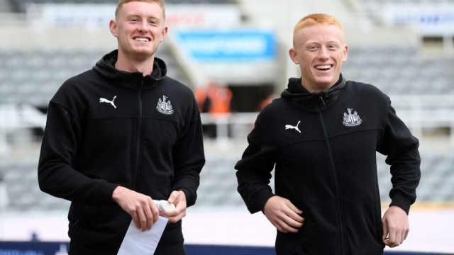 Sean Longstaff and Matty Longstaff are both in elongated contract discussions with their club Newcastle United (Getty Images)