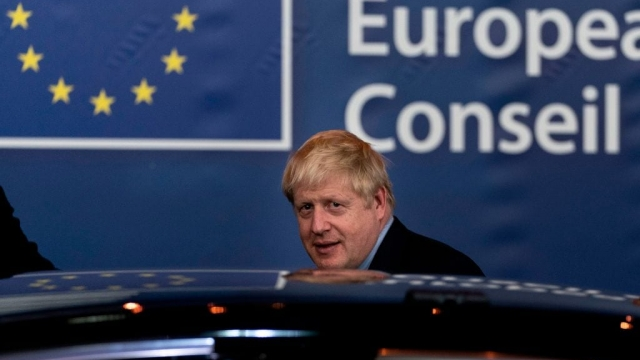 Prime Minister Boris Johnson leaving Brussels. He will set out the UK's negotiating mandate on Thursday
