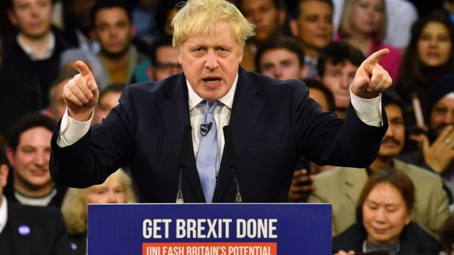 Prime Minister Boris Johnson has suggested the UK could leave the EU with an Australian-style deal (Photo by BEN STANSALL/AFP via Getty Images)