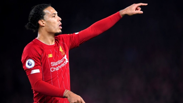 Liverpool's Dutch defensive stalwart Virgil van Dijk