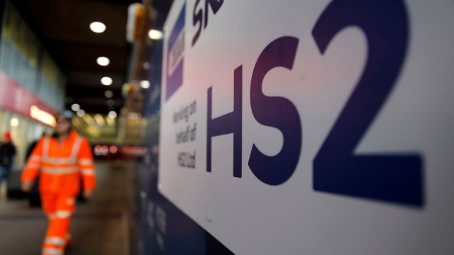 Prime Minister Boris Johnson has given the green light to HS2 (Photo: Tolga Akmen/AFP/Getty)