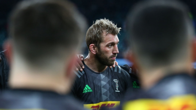 Chris Robshaw has announced he will hang up his Harlequins shirt at the end of this season (Getty Images for Harlequins)