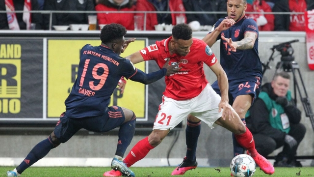 Bayern Munich play Mainz 05 v FC Bayern Munich on 1 February 2020 - one of the matches in question