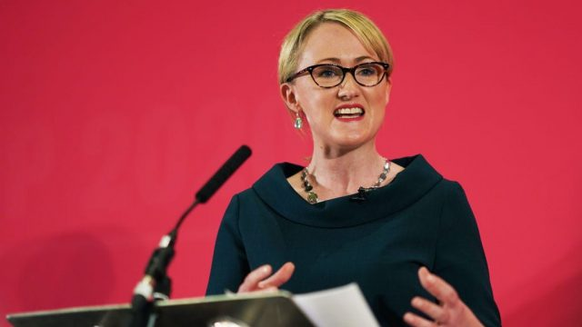 Rebecca Long-Bailey is fighting to overtake Keir Starmer (Photo: Ian Forsyth/Getty Images)