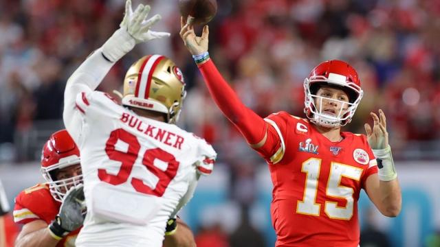 Super Bowl star Patrick Mahomes