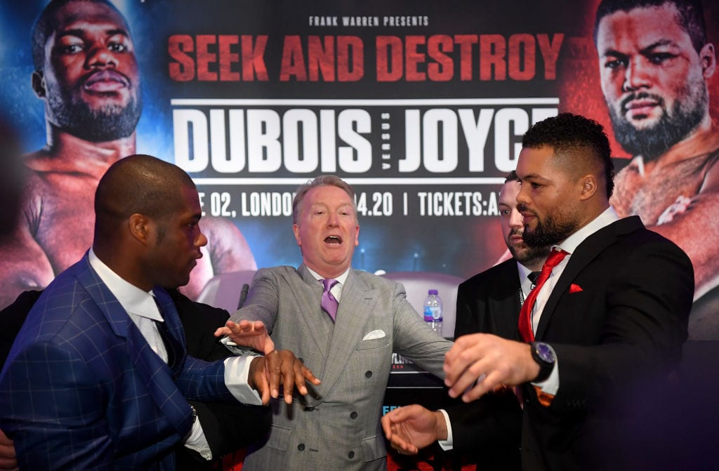 i's guide to Dubois vs Joyce - including full undercard, how to watch it and fight time