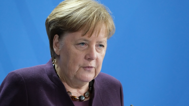 The German Chancellor Angela Merkel warned of 'very tough and difficult negotiations' on the budget