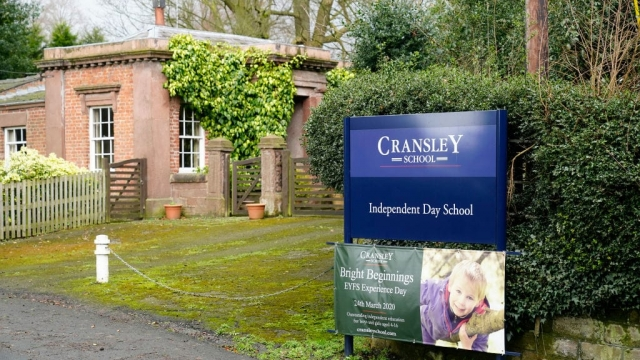 Pupils were sent home from Cransley School in Northwich, Cheshire, were sent home after some showed 'flu-like symptoms' following a ski trip to northern Italy