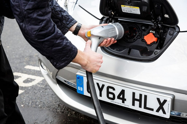 The Government is stepping up its efforts to reach net zero carbon emissions by 2050, including encouraging more electric car use (Photo: Getty)