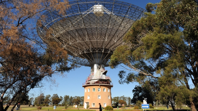 The Parkes radio telescope in Australia is involved in the largest-ever search for intelligent extraterrestrial life