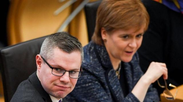 Nicola Sturgeon accepted Derek Mackay's resignation (Photo: Getty)