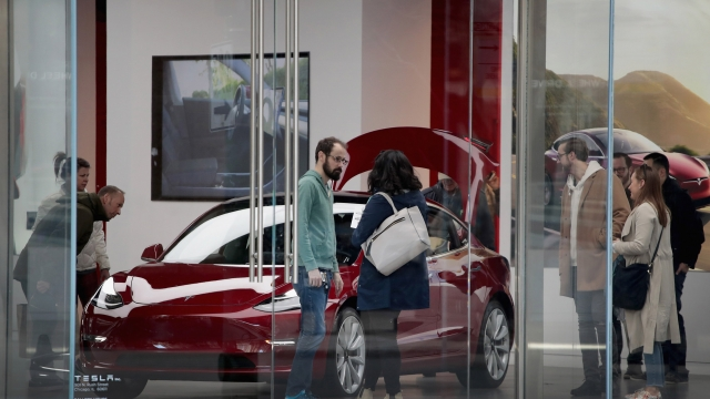 Tesla makes stylish electric cars, but they come at a price (Photo: Scott Olson/Getty Images)