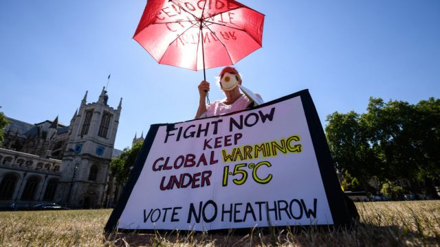 Campaigners have repeatedly argued Heathrow expansion is incompatible with UK climate targets