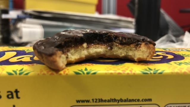 Pineapple Jaffa Cakes