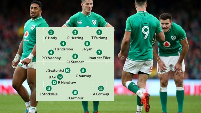 Ireland Rugby Team vs England Six Nations 2020