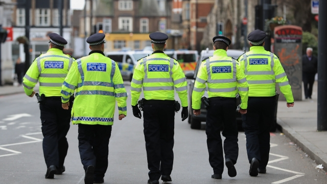 Police activity at the scene following the terror attack in Streatham High Road, south London by Sudesh Amman, 20, who was shot dead by armed police (Aaron Chown/PA Wire)