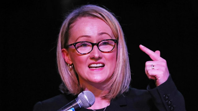 Labour leadership contender Rebecca Long-Bailey made a major pitch to unions and workers. (Photo credit: Aaron Chown/PA Wire)