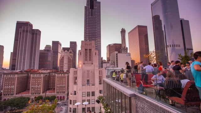 Downtown LA has become one of the trendiest areas in California