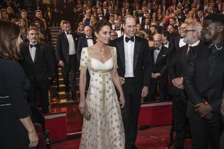 The Duke and Duchess of Cambridge attend the EE British Academy Film Awards at Royal Albert Hall (Photo: Getty)