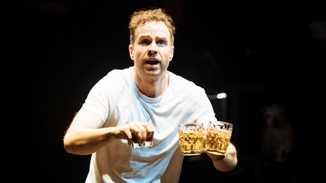 Rafe Spall stuns with his monologue embodying the views of a working-class racist