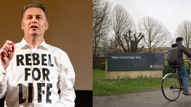 Article thumbnail: Chris Packham took on Cambridge University