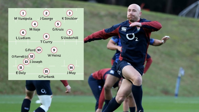 Willi Heinz will start at scrum-half for England against Scotland in round two of the 2020 Six Nations (Getty images)