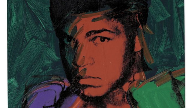 Andy Warhol, Muhammad Ali, 1977. Sold for £4.9 million with fees