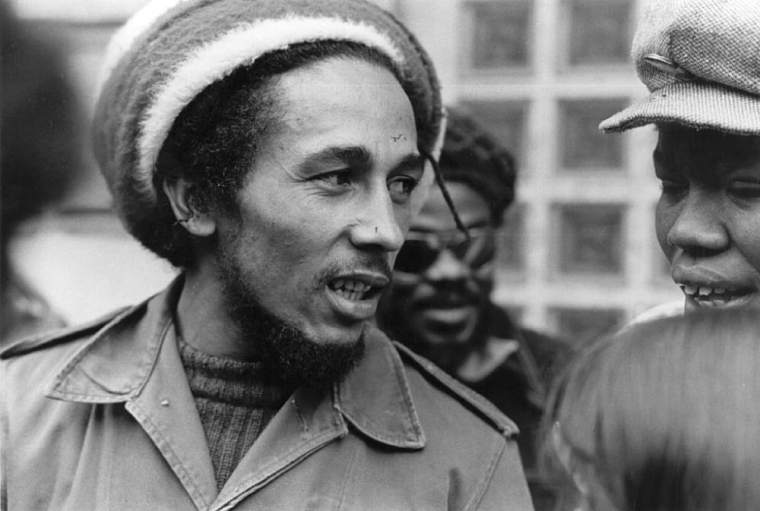 Bob Marley pictured in London in 1977 (Photo: Evening Standard/Getty)