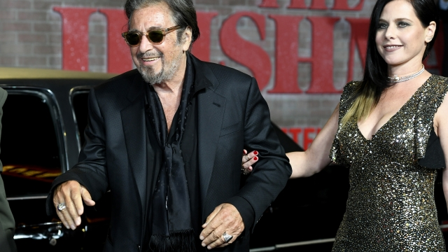 Al Pacino and Meital Dohan have a 39 year year age gap (Photo: Frazer Harrison/Getty Images)