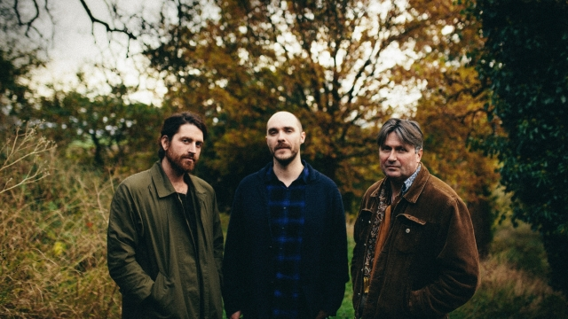 Poet Laureate Simon Armitage (right) releases his debut album with post-rock group, LYR