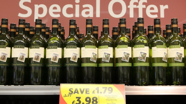 The anticipated price rise will hit those who buy lower-priced wine the hardest (Photo: Getty)