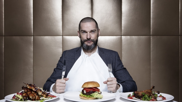 Fred Sirieix announced he was engaged to be married on his Instagram (Photo: BBC)