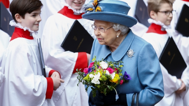 Article thumbnail: The Queen photograhed after she attended the annual Commonwealth Service at Westminster Abbey in London on 9 March 9 (Photo: REUTERS/Henry Nicholls)