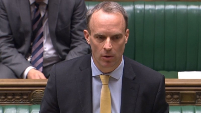 Dominic Raab said more than 1,000 citizens had so far been repatriated from 26 countries (Photo: PA)