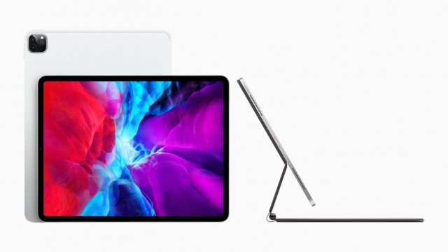Apple's new iPad Pro features two rear-facing cameras (Photo: Apple)