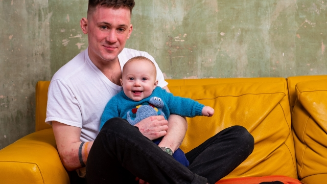Article thumbnail: Ervin Trykowski , a Scotch Whisky Ambassador for Diageo, took six months fully paid leave to help look after his son Rupert