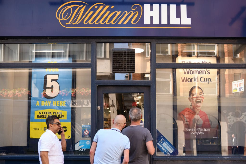 William Hill bills itself as the UK's biggest bookmaker (Photo by Leon Neal/Getty Images)