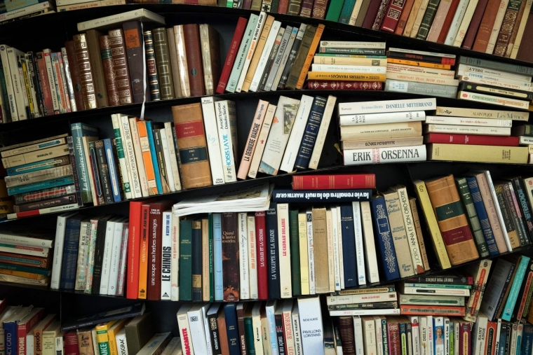 So many books, so little time (Photo by JOEL SAGET/AFP via Getty Images)