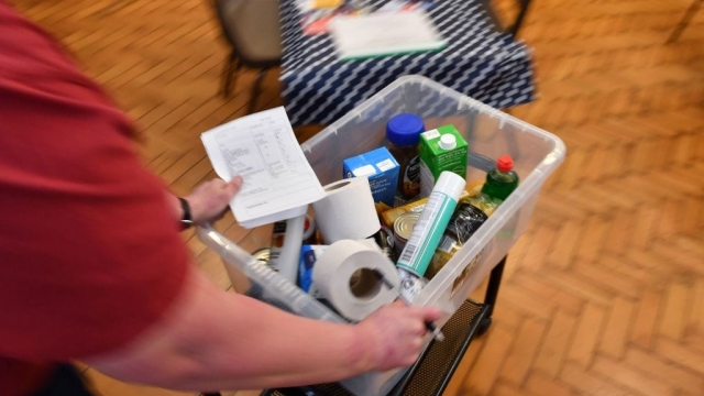 Article thumbnail: Some food banks say donations are down amid the outbreak