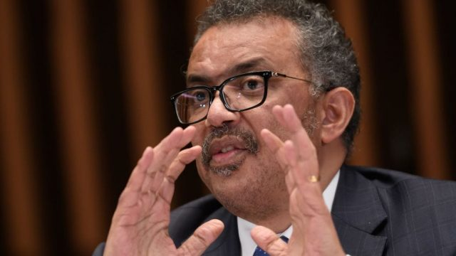 World Health Organisation Director-General Tedros Adhanom Ghebreyesus gave the advice as more coronavirus cases spread throughout Europe and the Middle East.