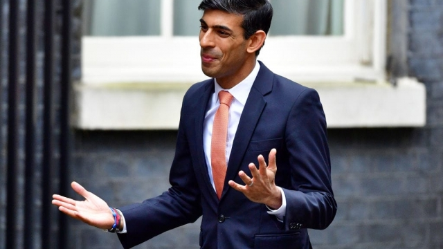 Rishi Sunak is delivering his first Budget (Photo: Leon Neal/Getty Images)