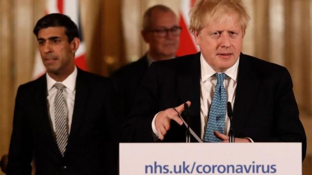 Boris Johnson: under fire for his handling of the coronavirus emergency