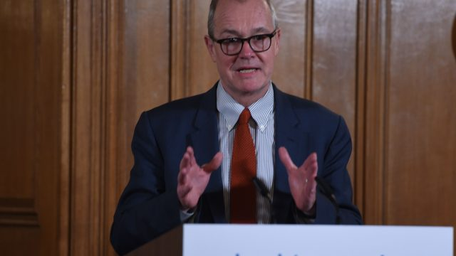 Sir Patrick Vallance said the efforts being made by the population will lead to a drop in the transmission of the disease