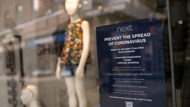 Article thumbnail: Next has stress-tested its business to prepare for the crisis (Photo: OLI SCARFF/AFP via Getty Images)