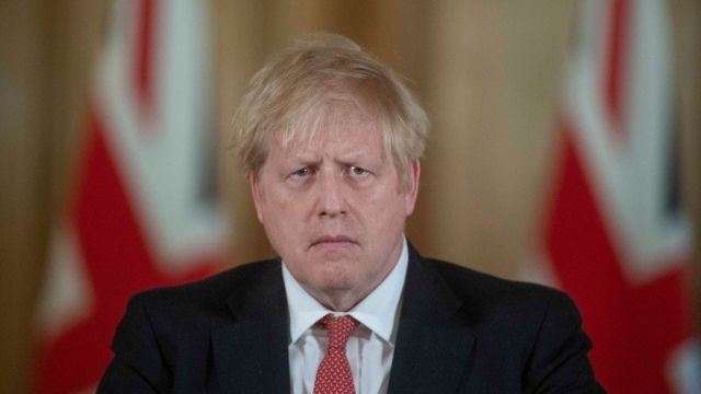 Prime Minister Boris Johnson speaks during a daily press conference at 10 Downing Street on March 20, 2020 in London, England.